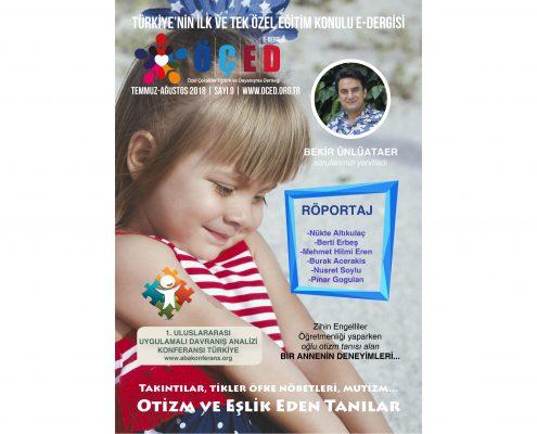 ÖÇED Temmuz-Ağustos E-Dergi kapak